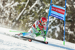 Zan Kranjec (SLO) competes during 9th Men's Giant Slalom race of FIS Alpine Ski World Cup 55th Vitranc Cup 2016, on March 4, 2016 in Kranjska Gora, Slovenia. Photo by Vid Ponikvar / Sportida