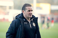 Newport County  head coach Graham Westley during the EFL Sky Bet League 2 match between Crawley Town and Newport County at the Checkatrade.com Stadium, Crawley, England on 17 December 2016. Photo by Andy Walter.
