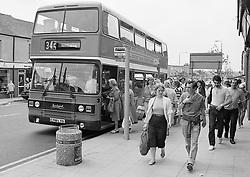Kirkby, Nottingham, UK 1986