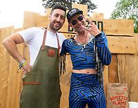 Phil Juma abd DJ BBQ at Camp Bestival 2021, Lulworth Castle photo by Brian Jordan