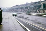Lotus-Climax racing car John Coundley Racing Partnership Aintree race circuit April 1963