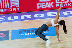 04.09.2013, Arena Bonifka, Koper, SLO, Eurobasket EM 2013, Russland vs Italien, im Bild Cheerleaders Kazina // during Eurobasket EM 2013 match between Russia and Italy at Arena Bonifka in Koper, Slowenia on 2013/09/04. EXPA Pictures © 2013, PhotoCredit: EXPA/ Sportida/ Matic Klansek Velej<br /> <br /> ***** ATTENTION - OUT OF SLO *****
