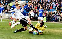 Fotball , 23 . november 2015 , NM finale herrer<br /> Rosenborg - Sarpsborg<br /> cupfinale<br /> Alexander Søderlund , RBK<br />  Duwayne Kerr , Sarpsborg