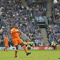 Photo: Steve Bond/Richard Lane Photography. <br />Leicester City v Sheffield Wednesday. Coca-Cola Championship. 26/04/2008. Leon Clarke lobs goal no3