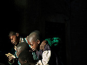 Students at the Koranic school in Djenné, Mali