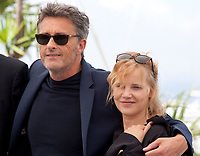 Director Pawel Pawlikowski, actress Joanna Kulig  at the Cold War film photo call at the 71st Cannes Film Festival, Friday 11th May 2018, Cannes, France. Photo credit: Doreen Kennedy