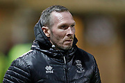 Michael Appleton Manager of Lincoln City during the EFL Sky Bet League 1 match between Lincoln City and Portsmouth at Sincil Bank, Lincoln, United Kingdom on 28 January 2020.