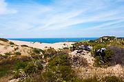 Duna Da Cresmina,  sand dunes, Cascais, Lisbon, Portugal, part of the  Guincho-Cresmina dune system.