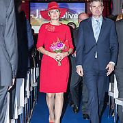 NLD/Den Bosch/20161201 - Koningin Maxima opent Jheronimus Academy of Data Science, (POOL)