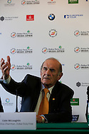Colm McLoughlin, Executive Vice Chairman, Dubai Duty Free, at the announcement of title sponsor for the Irish Open  to be the Dubai Duty Free Irish Open, to be held at Royal Co Down Golf Club, Newcastle, Co Down, Northern Ireland.<br /> Picture: Fran Caffrey / Golffile