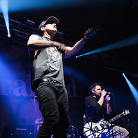 Zebrahead performing live at Manchester Academy, Manchester, UK, 2014-02-03