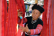 Mai Chau, Vietnam, October 2008.  Market day in the Hmong tribal village. The mountainous area around Mai chau is home to several different hill tribes.  Vietnam is an upcoming player in the travel industry. Photo by Frits Meyst/Adventure4ever.com