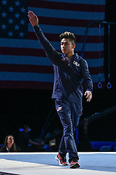 March 2, 2019 - Greensboro, North Carolina, US - YUL MOLDAUER is introduced to the crowd at the Greensboro Coliseum in Greensboro, North Carolina. (Credit Image: © Amy Sanderson/ZUMA Wire)