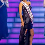 NLD/Hilversum/20171009 - Finale Miss Nederland 2017, Farida Soebhan