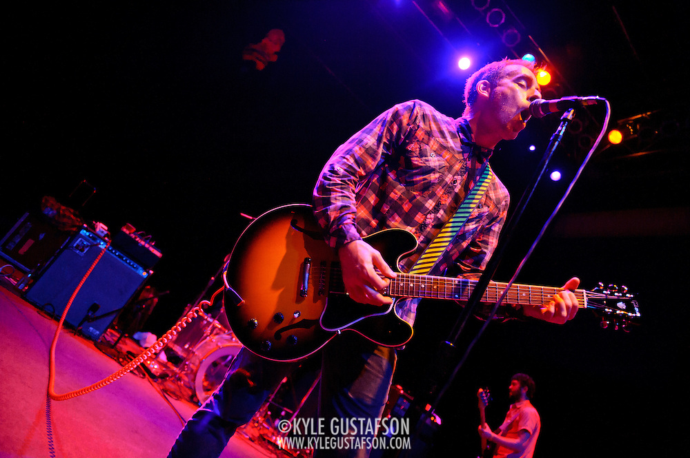 April 4, 2010 (Washington, D.C.) - Ted Leo and the Pharmacists perform a sold out show at the 9:30 Club.  Leo is currently touring behind his latest album, The Brutalist Bricks. (Photo by Kyle Gustafson/For The Washington Post)