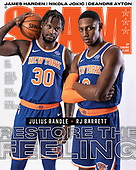 May 04, 2021 - US: Julius Randle & Rj Barrett Cover Slam Magazine