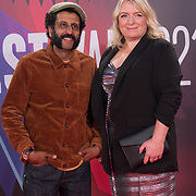 Adeel Akhtar, Claire Rushbrook attended ALI & AVA - The Mayor of London's Special Presentation, 13 October 2021 Southbank Centre, Royal Festival Hall, London, UK.