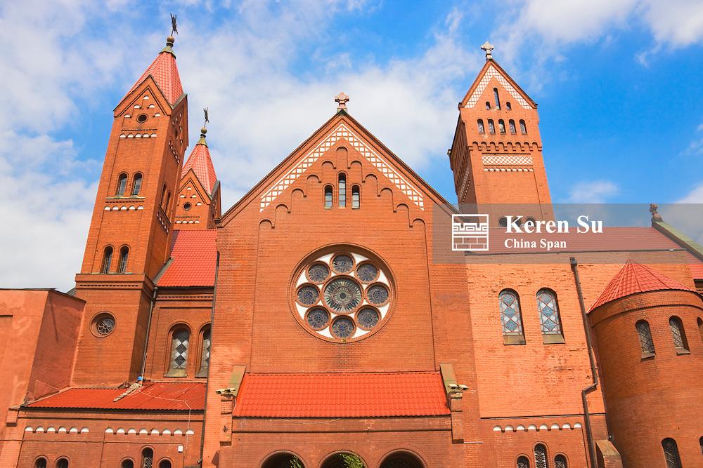 The Red Church (Roman Catholic), Minsk, Belarus