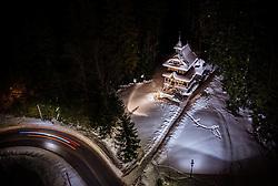 THEMENBILD - die Herz-Jesu-Kapelle in der Winterlandschaft, aufgenommen am 17. Januar 2019 in Zakopane, Polen // the Sacred Heart Chapel in the winter landscape, Zakopane, Poland on 2019/01/17. EXPA Pictures © 2019, PhotoCredit: EXPA/ JFK
