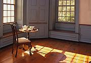 Parlor, Pottsgrove Mansion, Pottstown, Montgomery Co., PA, Potts, iron master mansion