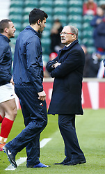 February 10, 2019 - London, England, United Kingdom - Jacques Brunel Head Coach of France..during the Guiness 6 Nations Rugby match between England and France at Twickenham  Stadium on February 10th,  in Twickenham, London, England. (Credit Image: © Action Foto Sport/NurPhoto via ZUMA Press)