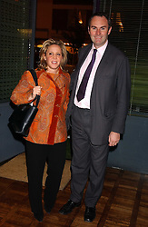 MR & MRS WILLIAM CASH she was Ilaria Bulgari at a party to celebrate the publication of 'E is for Eating' by Tom Parker Bowles held at Kensington Place, 201 Kensington Church Street, London W8 on 3rd November 2004.<br /><br />NON EXCLUSIVE - WORLD RIGHTS