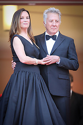 Lisa Hoffman and Dustin Hoffman attend 'The Meyerowitz Stories' premiere during the 70th annual Cannes Film Festival at Palais des Festivals on May 21, 2017 in Cannes, France. Photo by Shootpix/ABACAPRESS.COM