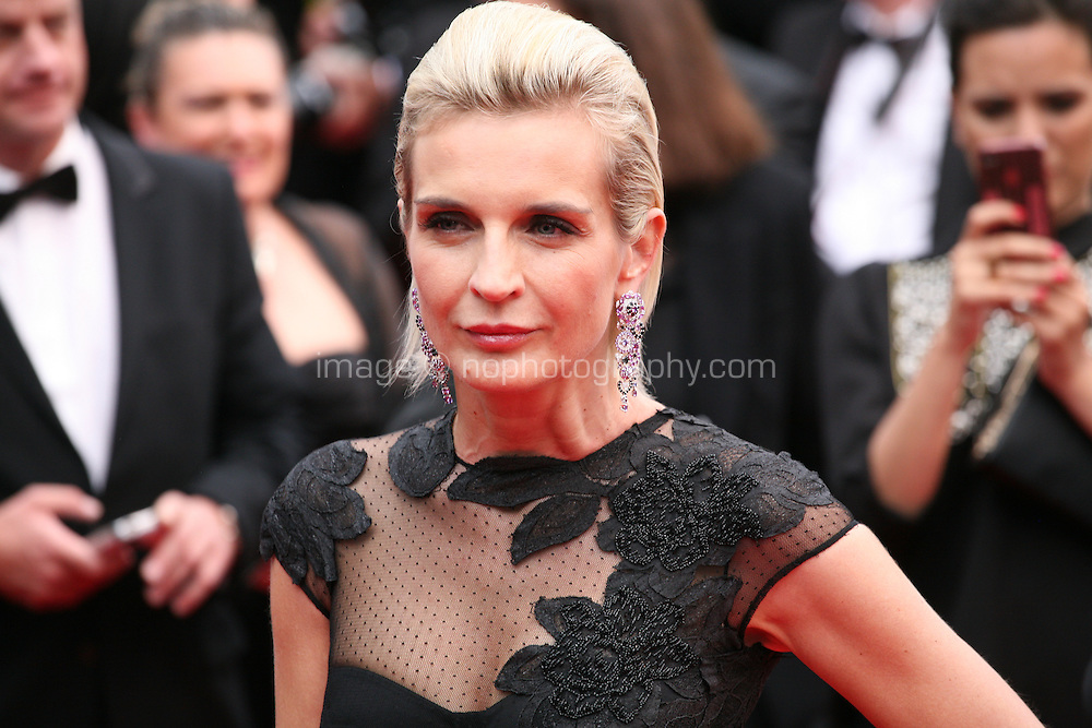 Melita Toscan du Plantier at the the Grace of Monaco gala screening and opening ceremony red carpet at the 67th Cannes Film Festival France. Wednesday 14th May 2014 in Cannes Film Festival, France.
