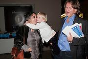 TACITA DEAN; RUFUS HALE; MATHEW HALE, The Unilever Series: Tacita Dean. Tate Modern. London. 10 October 2011. <br /> <br />  , -DO NOT ARCHIVE-© Copyright Photograph by Dafydd Jones. 248 Clapham Rd. London SW9 0PZ. Tel 0207 820 0771. www.dafjones.com.