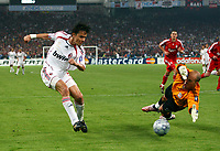 Filippo Inzaghi Scores 2nd goal<br /> AC Milan 2006/07<br /> Pepe Reina Liverpool<br /> AC Milan V Liverpool 23/05/07 (2-0)<br /> The UEFA Champions League Final <br /> at the Olympic Stadium in Athens<br /> <br /> Photo Robin Parker Fotosports International