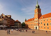 Castle Square is a historic square in front of the Royal Castle – the former official residence of Polish monarchs