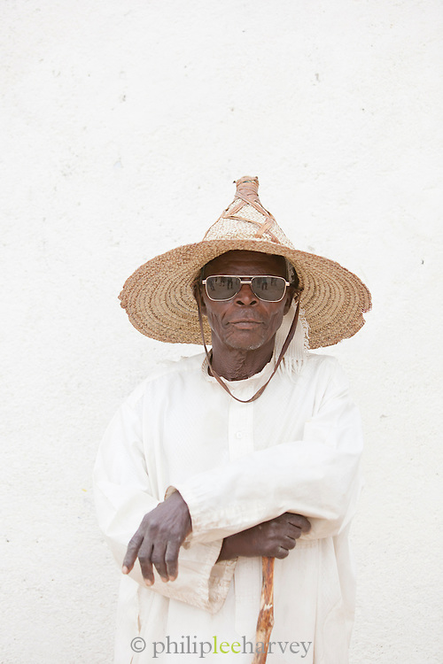 A local man in the village of Rhumsiki, Cameroon