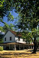 Ranch house, Anderson Marsh S.H.P. near Lower Lake, Clear Lake, Lake County, California