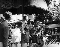1933 Douglas Fairbanks at the Brown Derby in Hollywood