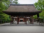 Toyokuni Shrine is a Shinto shrine located in Higashiyama-ku, Kyoto, Japan. It was built in 1599 to commemorate Toyotomi Hideyoshi