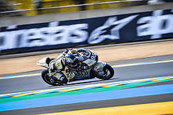May 18, 2018 - Le Mans, France - 95 JULES DANILO (FRA) NASHI ARGAN SAG TEAM (ESP) KALEX MOTO2 (Credit Image: © Panoramic via ZUMA Press)