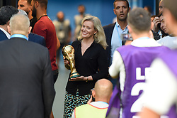 August 10, 2018 - Marseille, France - NATHALIE BOY DE LA TOUR (PRESIDENTE DE LA LFP) - COUPE DU MONDE - TROPHEE (Credit Image: © Panoramic via ZUMA Press)
