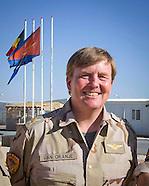 Koning bezoekt Nederlandse troepen Jordanie