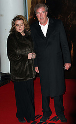Jeremy Clarkson  arriving for the Mission Impossible Ghost Protocol premiere in London, Tuesday 13th December 2011Photo by: Stephen Lock / i-Images<br /> File photo - Jeremy Clarkson's wife to divorce him after 21 years of marriage'. Photo filed Tuesday 6th May 2014.