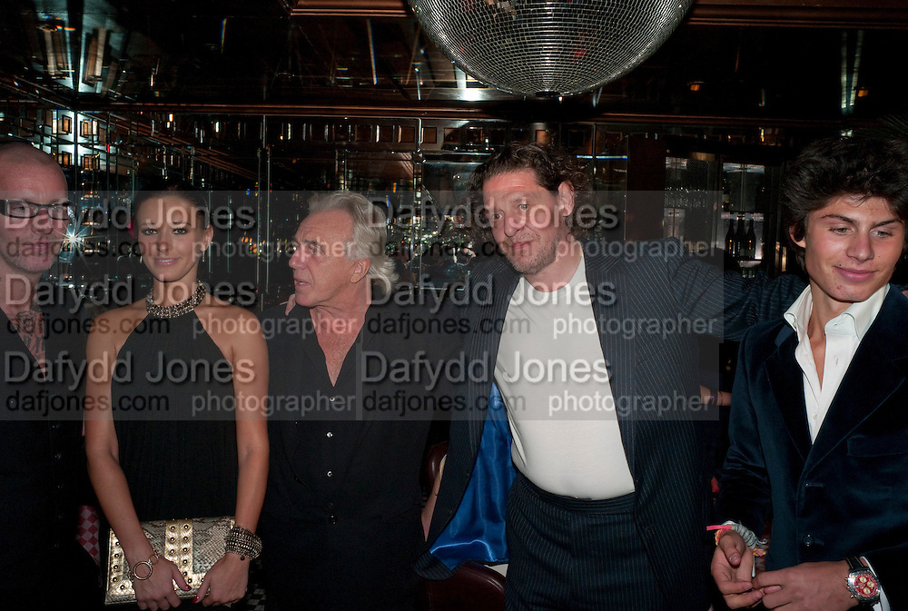 ADEE PHELAN;; BELLA WRIGHT; ; PETER STRINGFELLOW; MARCO PIERRE WHITE; LUCIANO PIERRE WHITE, , launch of Adee Phelan's Fabulous Haircare Range, Frankie's Italian Bar and Grill, 3 Yeomans Row, off Brompton Road, London SW3, 7pm *** Local Caption *** -DO NOT ARCHIVE-© Copyright Photograph by Dafydd Jones. 248 Clapham Rd. London SW9 0PZ. Tel 0207 820 0771. www.dafjones.com.<br /> ADEE PHELAN;; BELLA WRIGHT; ; PETER STRINGFELLOW; MARCO PIERRE WHITE; LUCIANO PIERRE WHITE, , launch of Adee Phelan's Fabulous Haircare Range, Frankie's Italian Bar and Grill, 3 Yeomans Row, off Brompton Road, London SW3, 7pm