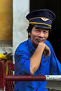 Railway signalman, the Imperial city of Hue
