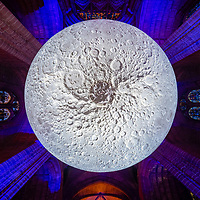 Museum of the Moon at Liverpool Cathedral.