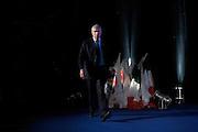 Pier Ferdinando Casini durante il congresso nazionale dell' Udc (Unione di Centro) all'Auditorium Conciliazione. Rome, 21 febbraio 2014. Christian Mantuano / OneShot