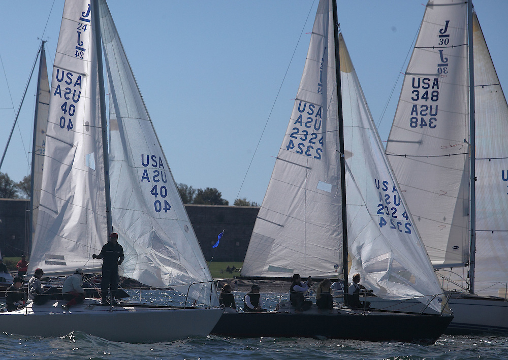 J class start of the 9th Annual Sail for Hope event in Newport, RI.