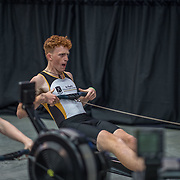 Race 21 500mtr U17<br /> <br /> www.rowingcelebration.com Competing on Concept 2 ergometers at the 2018 NZ Indoor Rowing Championships. Avanti Drome, Cambridge,  Saturday 24 November 2018 © Copyright photo Steve McArthur / @RowingCelebration