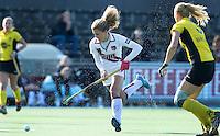 AMSTELVEEN - Amsterdam speelster  Maria Verschoor tijdens de hoofdklasse hockeywedstrijd tussen de vrouwen van Amsterdam en Terriers (4-0). COPYRIGHT KOEN SUYK