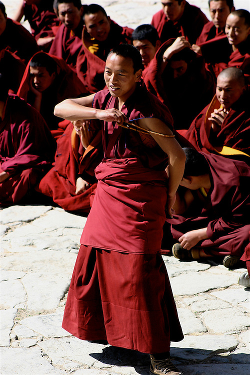 """The Sera Monastery in Tibet and its counterpart in Mysore, India are the best locations to witness the """"Monk Debates"""" on the teachings of Buddha and the philosophy of Buddhism. Sera Monastery developed over the centuries as a renowned place of scholarly learning, training hundreds of scholars, many of whom have attained fame in the Buddhist nations"""
