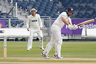 Ben Raine batting during the Specsavers County Champ Div 2 match between Durham County Cricket Club and Leicestershire County Cricket Club at the Emirates Durham ICG Ground, Chester-le-Street, United Kingdom on 19 August 2019.