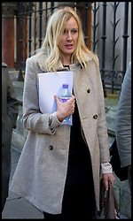Sally Roberts at the High Court in London for a hearing to decide whether her son Neon should have life-saving radiotherapy treatment, Friday December 7, 2012. Photo by i-Images