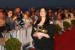 June 19, 2017 - Cabourg, France - BEATRICE DALLE, LAUREATE DU SWANN D'OR DE LA MEILLEURE ACTRICE POUR LE FILM 'CHACUN SA VIE' - 31EME FESTIVAL DE CABOURG 2017 . CABOURG, FRANCE, 18/06/2017. # 31EME FESTIVAL DE CABOURG 2017 - PHOTOCALL ET CLOTURE DU FESTIVAL (Credit Image: © Visual via ZUMA Press)